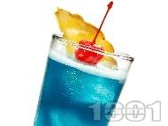 Коктейл Син Хавай (Blue Hawaiian)